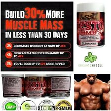 LEGAL TESTOSTERONE MUSCLE BODYBUILDING BOOSTER ANABOLIC STRONG TRIBULUS 60 PILL