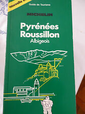guide vert michelin pyrenees roussillon albigeois  1986