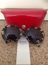 FANTASTIC CUTER AND GROSS FOR MULBERRY SUNGLASSES & RED PATENT CASE NWOT