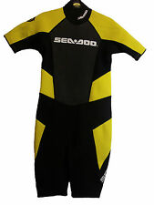 KIDS SEA DOO Shortie WETSUIT Costume Da Bagno Surf Nuoto Taglia Junior 12 (51)
