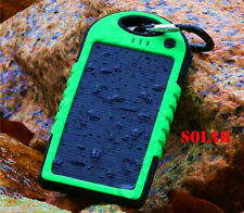 New 5000mAh Dual USB Portable Solar Power Bank Battery Charger for Cell Phone 2G