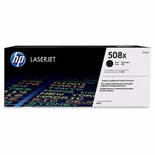 HP 508X CF360X Black Laser Toner Cartridge F/ M552n M553dn Yield 12500 Pages New