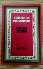 Paustovskii Selected Stories Russian Reader  with notes In Russian 1967