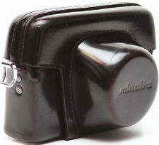 Minolta Leather Case For AL-F 35mm Film Rangefinder Camera