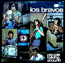 LOS BRAVOS - PEOPLE TALKING AROUND / EVERY DOG HAS HIS DAY - SG COLUMBIA 1970