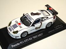 "Porsche 911 gt3 rs 996 ""recaro/com for car"" - Minichamps 1:43 - le 999 pc."