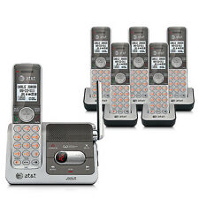 AT&T CL82601 6 Handset Cordless Phone W / Push-To-Talk Intercom