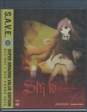 Shiki: The Complete Series - S.A.V.E. (BD/DVD, 2014, 8-Disc Set)