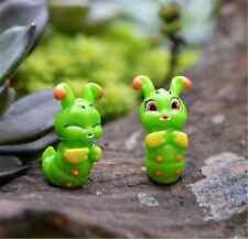 2 PZ Carino caterpillar Miniatura Bonsai Giardino Fatato Da esterno Creazioni