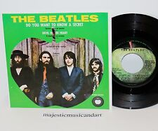 "THE BEATLES DO YOU WANT TO KNOW A SECRET EP 7"" VINYL APPLE 1971 PRESS NM RARE"