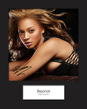 BEYONCE #2 Signed Photo Print 10x8 Mounted Photo Print - FREE DELIVERY