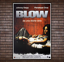 Movie Poster Blow - 70x100 CM - Johnny Depp