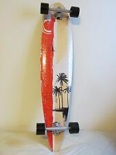 9-Ply Professional Complete Skateboard Maple Wood Fish Shape Long Board 41""