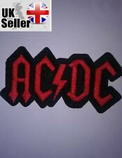 ACDC Iron-on/sew-on Embroidered Patch