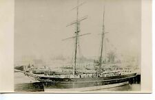 E791 RP 1890s UK HMS LARK SURVEY VESSEL ON STATION AUSTRALIA 1880-1890s