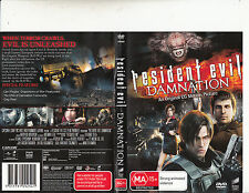 Resident Evil:Damnation-2012-Matthew Mercer-Movie-DVD