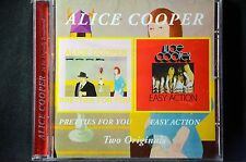 Alice Cooper Pretties For You/Easy Action 2 on 1 Remastered CD New + Sealed