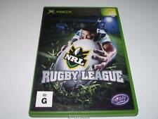NRL Rugby League XBOX PAL Preloved *Complete*