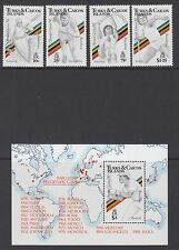 OLYMPICS : 1991 TURKS & CAICOS Olympics Games set  +MS SG 1067-70+MS1071 MNH