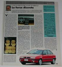 Article Articolo 1994 LANCIA DELTA HF 2.0 16V TURBO LS