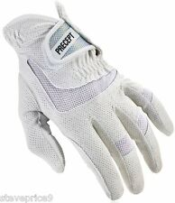 NEW PRECEPT LADIES LADY iQ+ GOLF GLOVE. MEDIUM. WHITE.