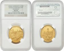 Germany 2004-A Unesco Heritage Site Bamberg 100 Euro Gold NGC MS-69