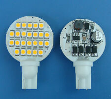 10x T10 194 921 168 Bulb Lamp 24-1210SMD LED AC/DC12-30V, Warm White NEW #HL