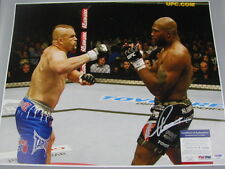 QUINTON 'RAMPAGE' JACKSON Hand Signed HUGE 16'x20' Photo + PSA DNA COA P74024