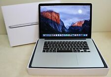 Apple MacBook Pro Retina 15.4 2.0 GHz i7 8GB 256 Flash A1398 ME293LL/A Late 2013