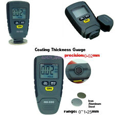 Mini Precision LCD Digital Car Autos Paint Coating Thickness Gauge Tester Meter