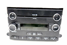 06 07 08 09 FORD FUSION MILAN MUSTANG F150 RADIO 6 DISC CD PLAYER CHROME KNOBS