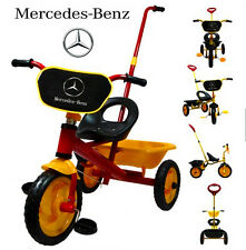 MERCEDES-BENZ BIKE TRIKE TRICYCLE KID CHILD 3 WHEEL OUTDOOR RIDE ON TOY SCOOTER