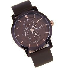 KENNETH COLE MEN'S LUXURY BROWN WITH  ROSE GOLD WATCH KC8107