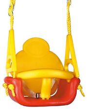 3 Way Convertible Swing Red Yellow Playground Baby Toddler Kids Cubby house NEW