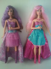 BARBIE DOLL - PRINCESS & THE POPSTAR - Transforming Tori & Keira Singing Dolls
