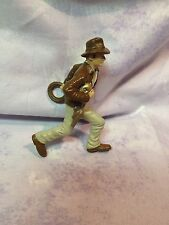 Indiana Jones figurine Action Figure 2006 holding Gold and Rope