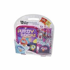 Furby Party Rockers Secrets Lockable Book & Flight Bag Set, Key Chain, Pens