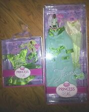 Lot 2 Disney Princess & Me Royal Sleepwear Outfit Balett Recital Tiana Doll