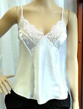 New White Camisole Top Size 14 RRP £8.00 Made in Morocco