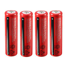 4pcs 18650 3.7V 4200mAh Li-ion Rechargeable Battery for Flashlight Torch Light