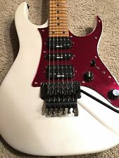 1988 Ibanez RG550 guitar - Pearl Mist, Mirror Red