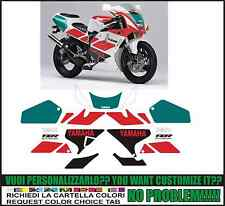 kit adesivi stickers compatibili  tzr 250 r 3xv 1991
