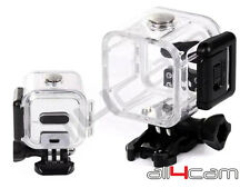 Dive Housing per GoPro hero4 sessione SUBACQUEO Custodia Impermeabile 30m