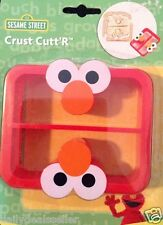 Sesame Street Sandwich Crust Cutter ELMO Cutt'r Theme Shapes Bread BRAND NEW
