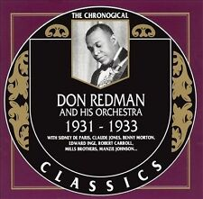 1931-1933 by Don Redman & His Orchestra-CLASSICS CD NEW