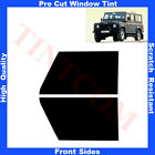 Pre Cut Window Tint Land Rover Defender 110 5D 1991-2007 Front Sides Any Shade