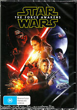 STAR WARS: Episode VII - The FORCE AWAKENS DVD BRAND NEW SEALED NEW RELEASE R4