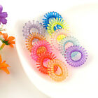 10PCS Ladies Elastic Rubber Hairband Phone Wire Hair Tie Ring Rope Band Ponytail