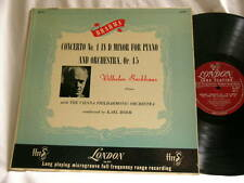 BRAHMS Piano Concerto No 1 WILHELM BACKHAUS Karl Bohm London ffrr mono LP