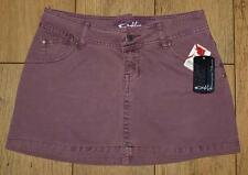 "Bnwt Womens Oakley Denim Mini A Line Skirt UK8 W27"" Flint New"